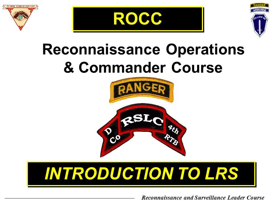 Reconnaissance Operations