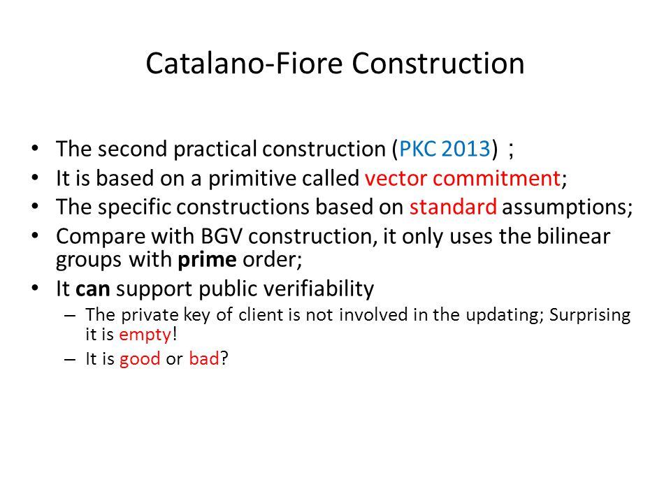 Catalano-Fiore Construction