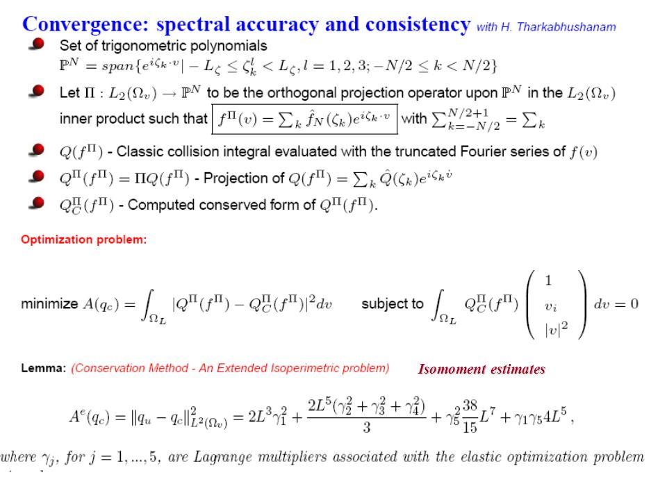 Isomoment estimates