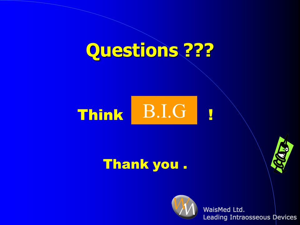 Questions Think ! Thank you . B.I.G