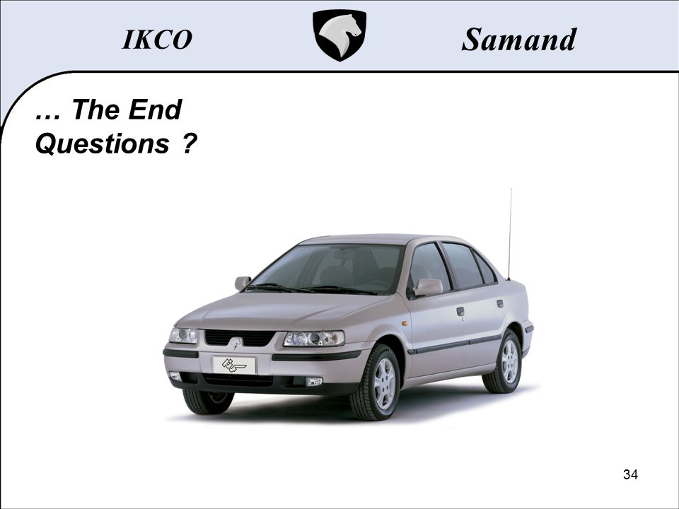 IKCO Samand … The End Questions