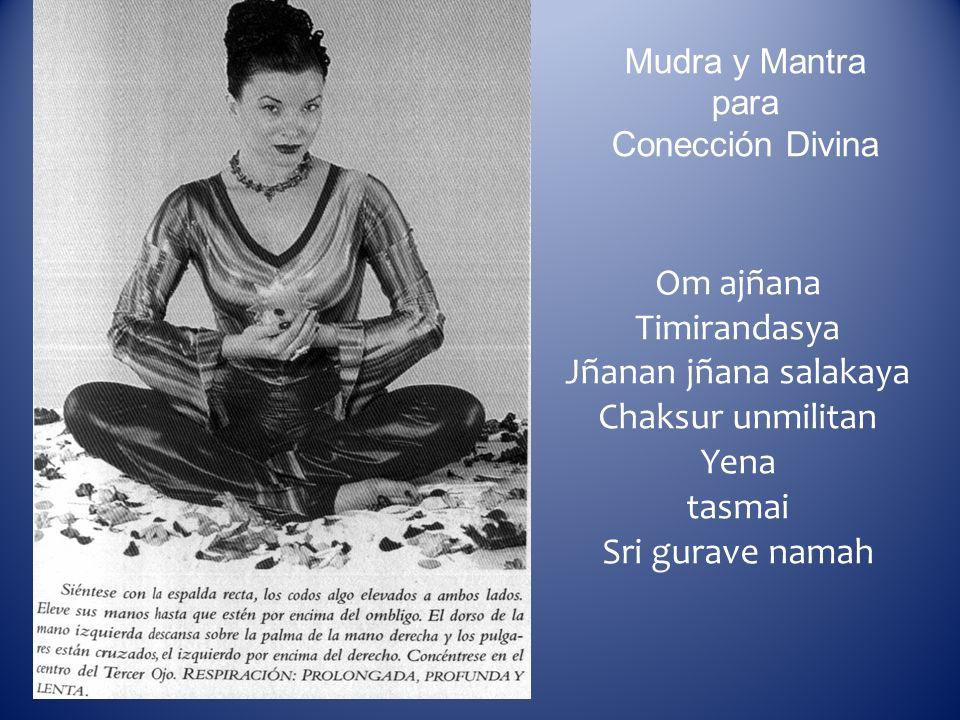 Mudra y Mantra para Conección Divina