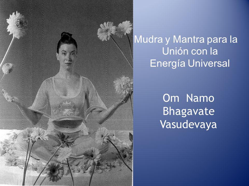 Mudra y Mantra para la Unión con la Energía Universal