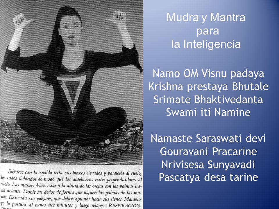 Mudra y Mantra para la Inteligencia