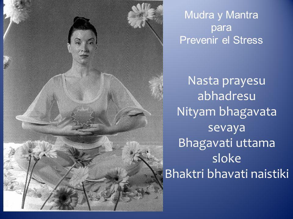 Mudra y Mantra para Prevenir el Stress