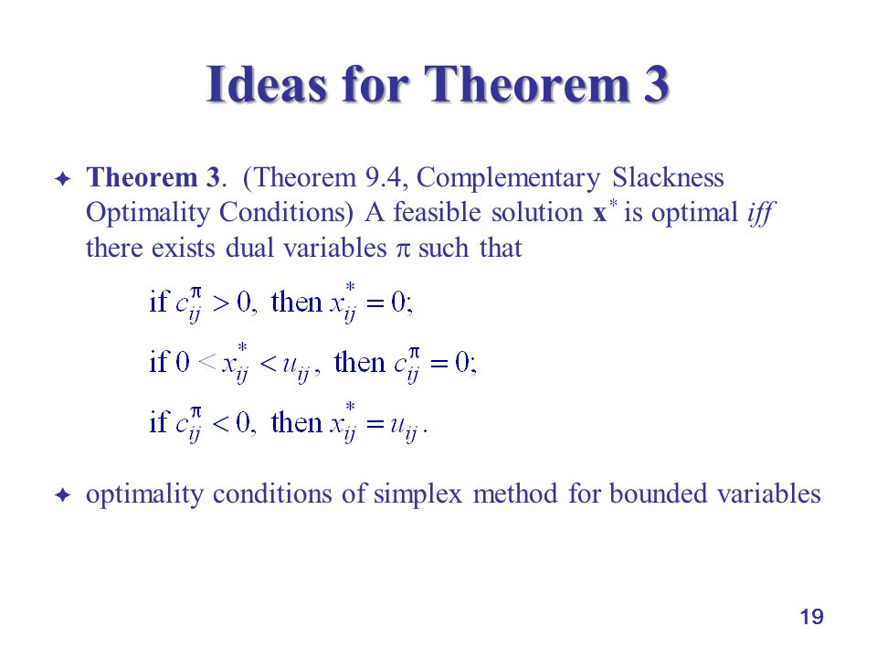 Ideas for Theorem 3