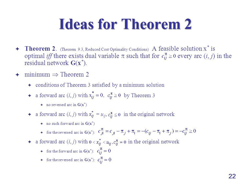 Ideas for Theorem 2