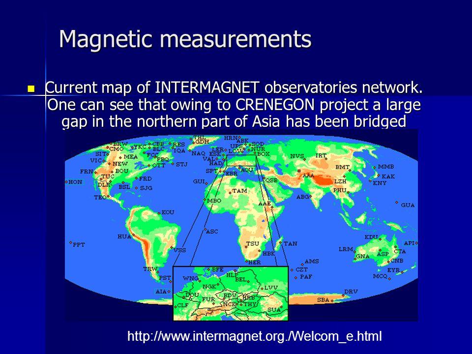 Magnetic measurements