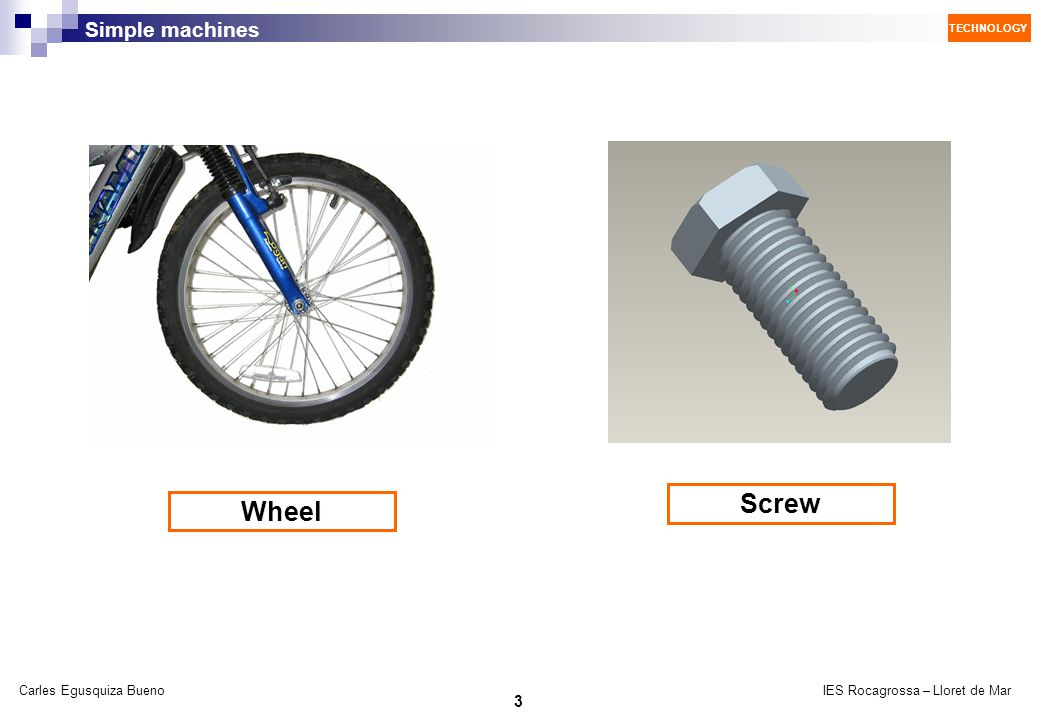 Screw Wheel