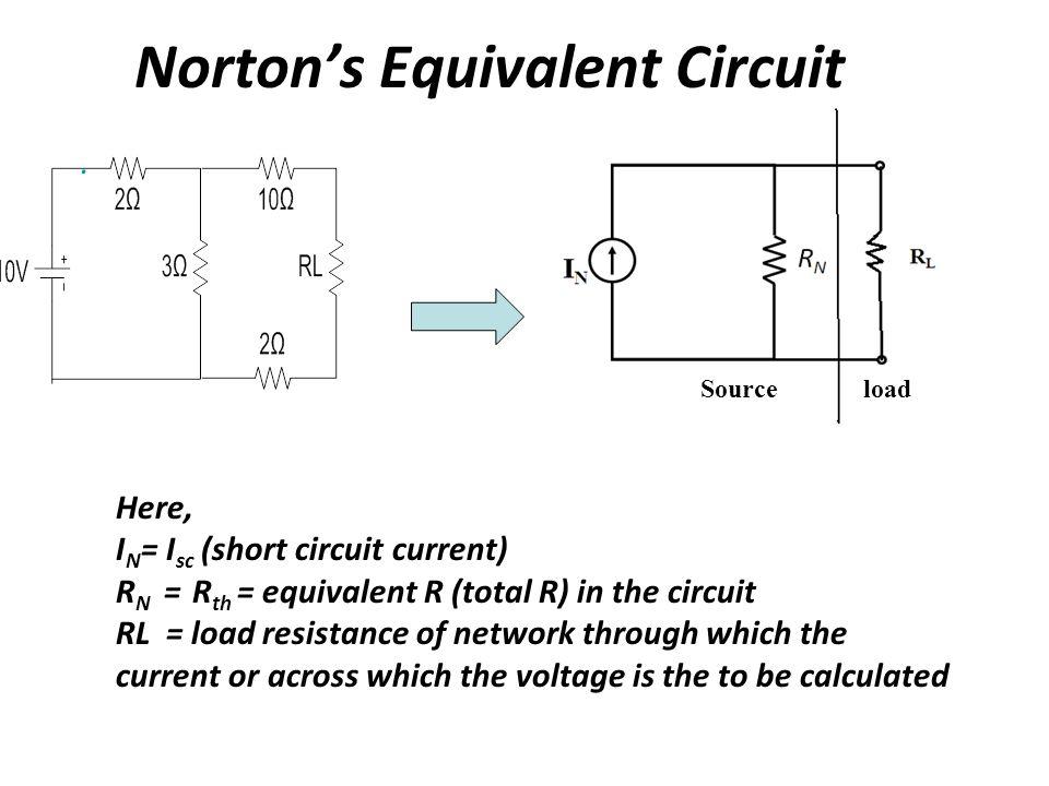 Norton's Equivalent Circuit