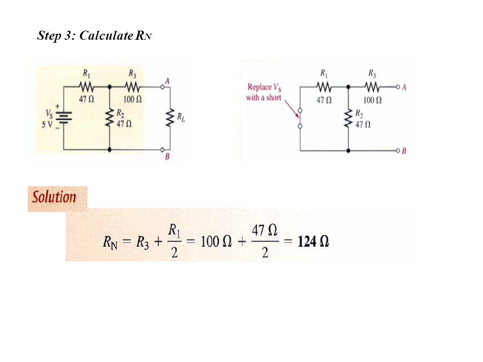 Step 3: Calculate RN