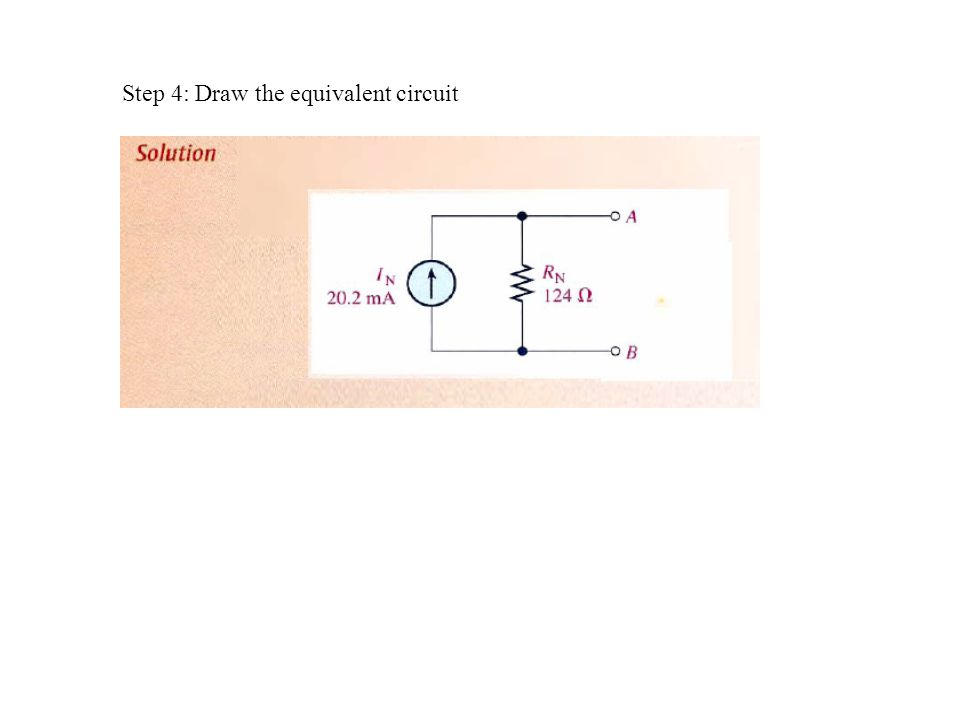 how to draw equivalent circuit of transistor