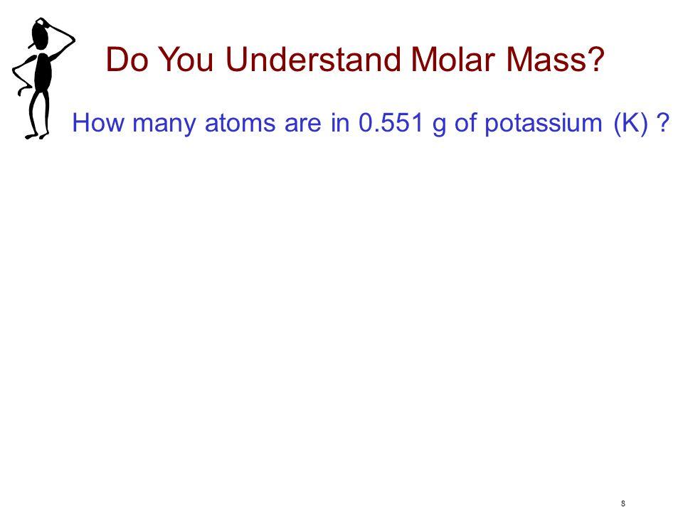 Do You Understand Molar Mass