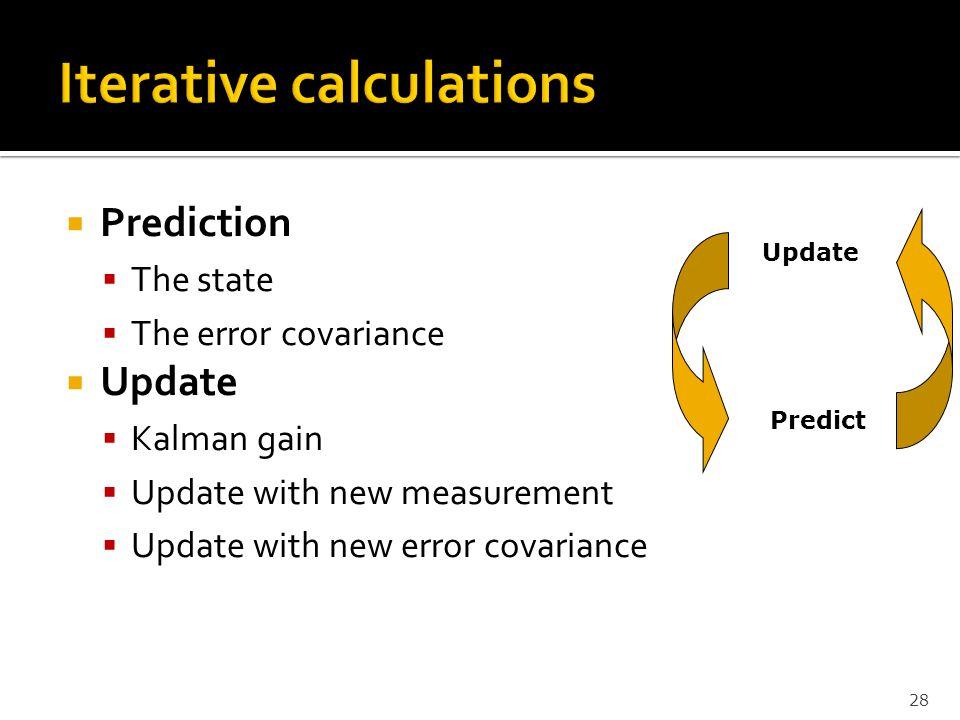 Iterative calculations