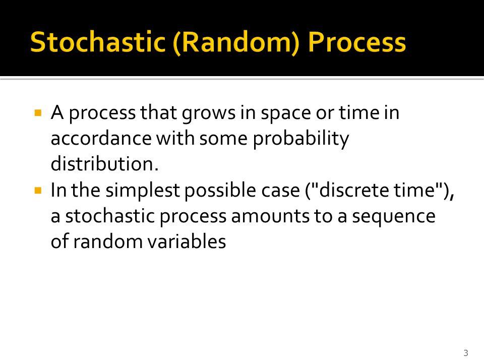 Stochastic (Random) Process