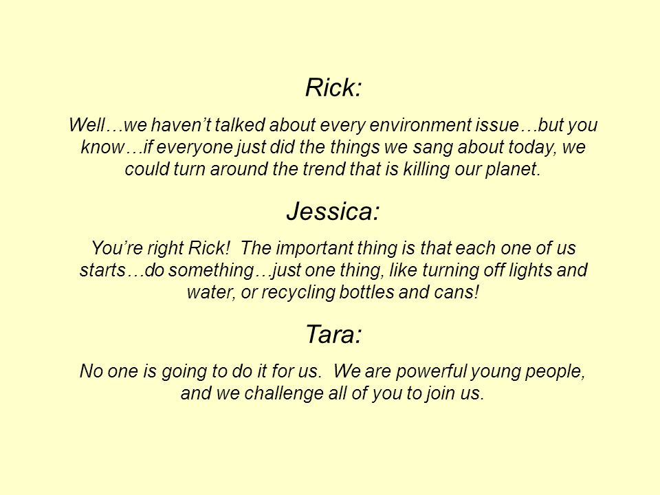 Rick: