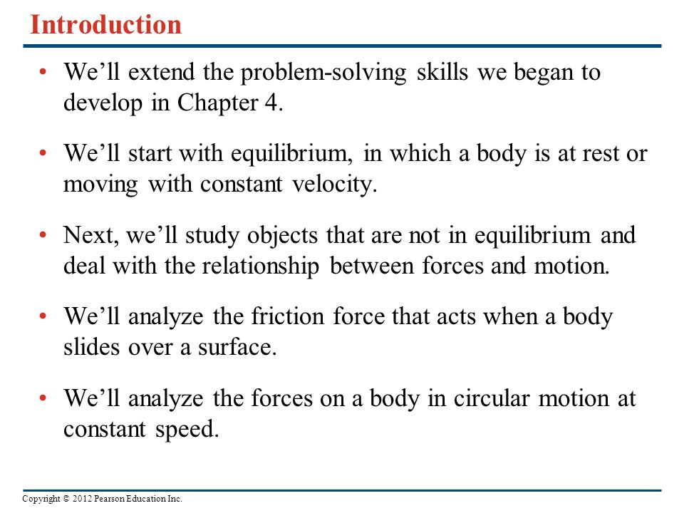 Introduction We'll extend the problem-solving skills we began to develop in Chapter 4.