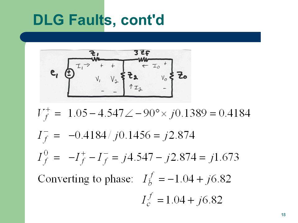 Unbalanced Fault Summary