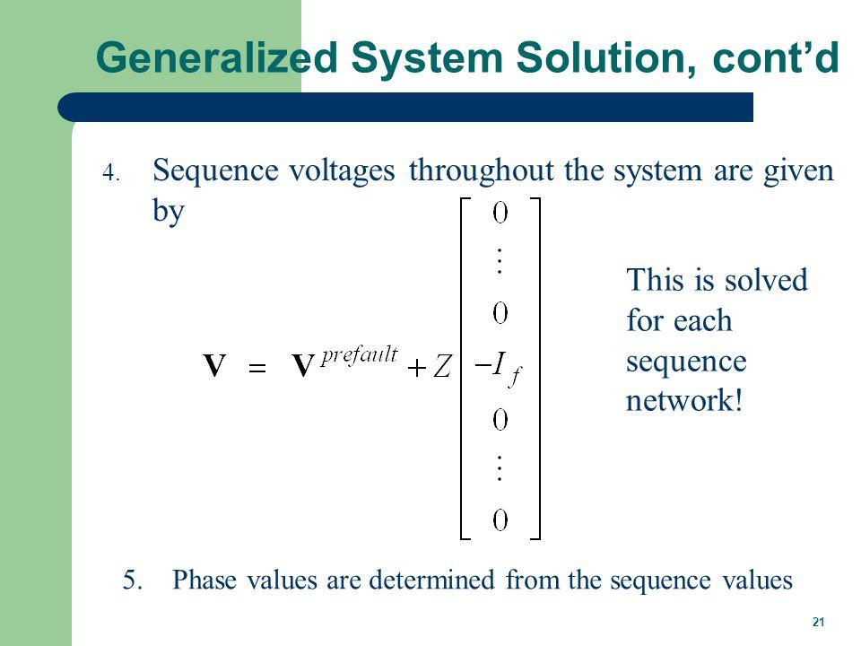 Unbalanced System Example