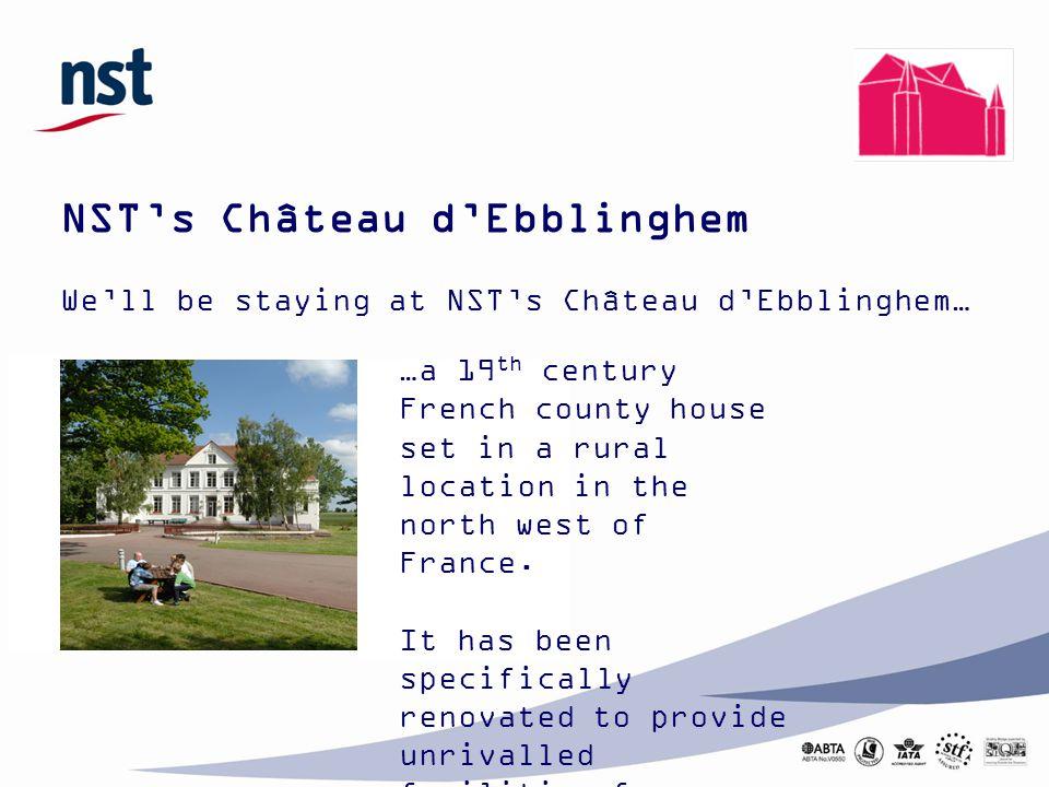 NST's Château d'Ebblinghem