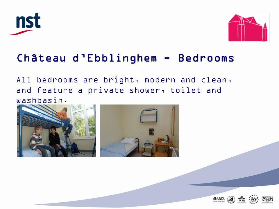 Château d'Ebblinghem - Bedrooms