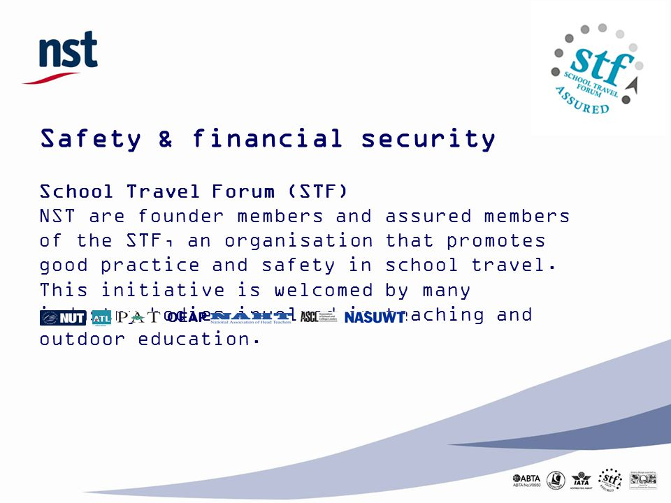 Safety & financial security