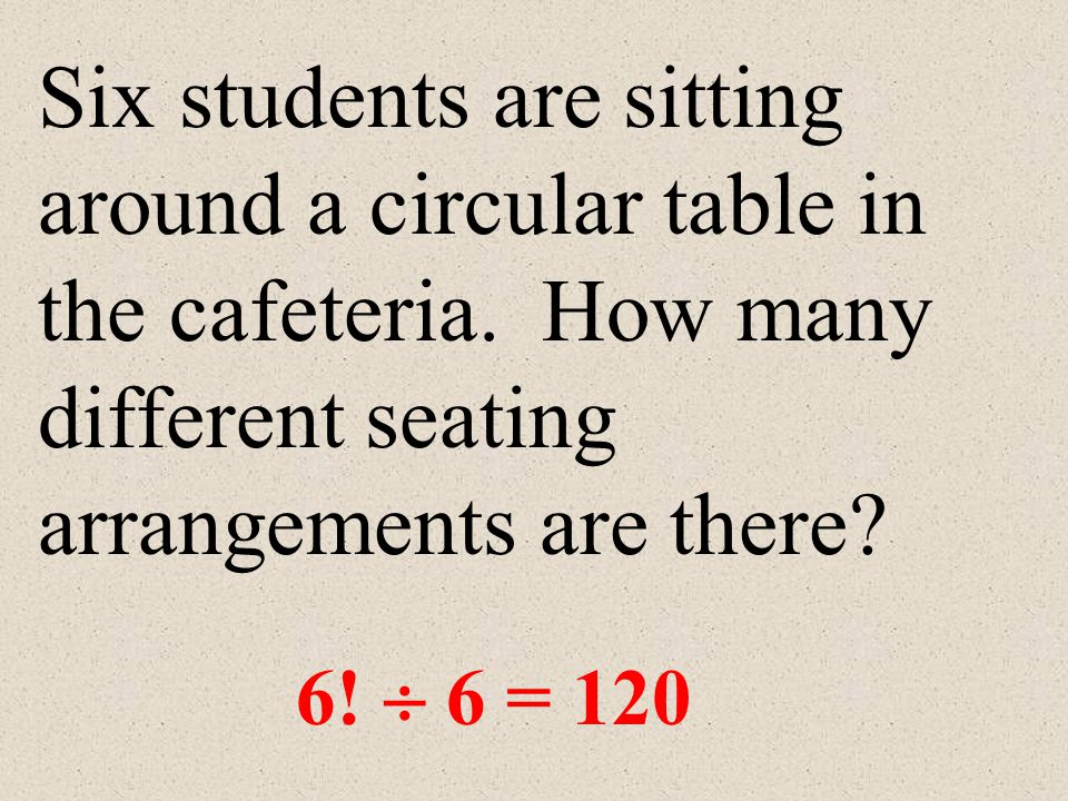 Six students are sitting around a circular table in the cafeteria