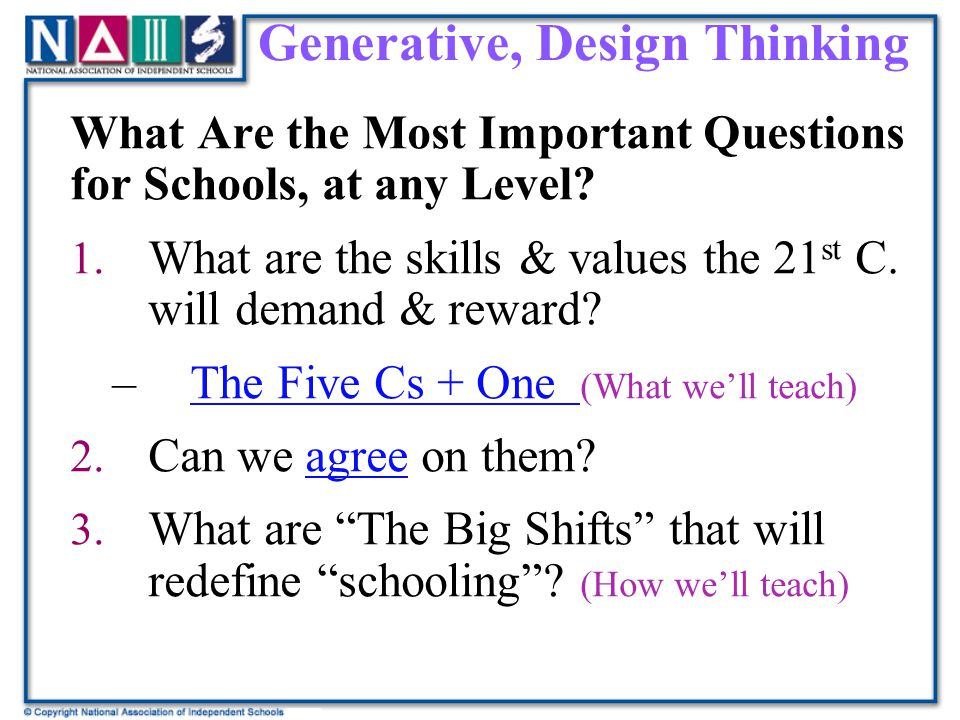 Generative, Design Thinking