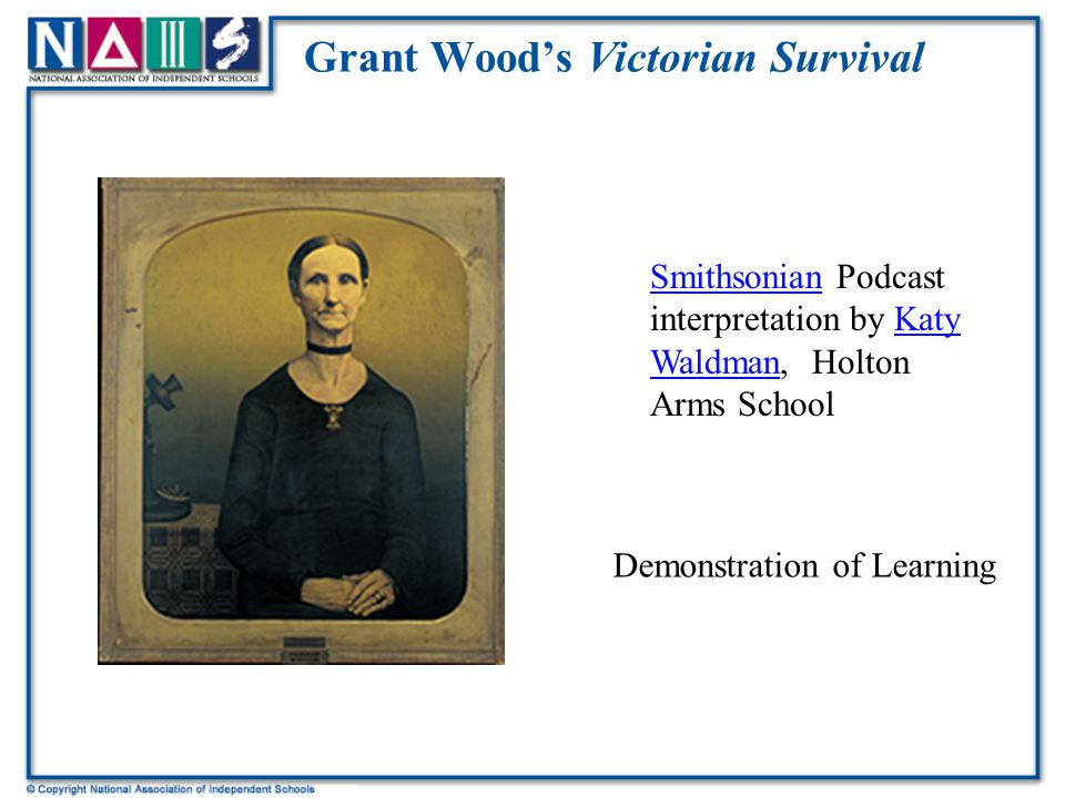 Grant Wood's Victorian Survival