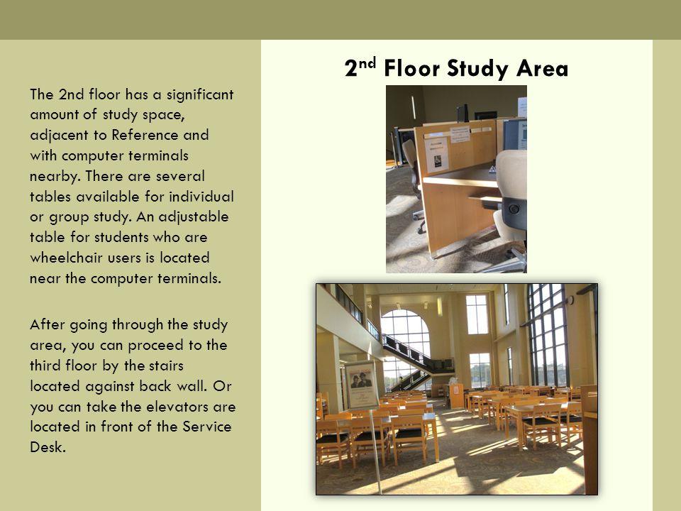 2nd Floor Study Area