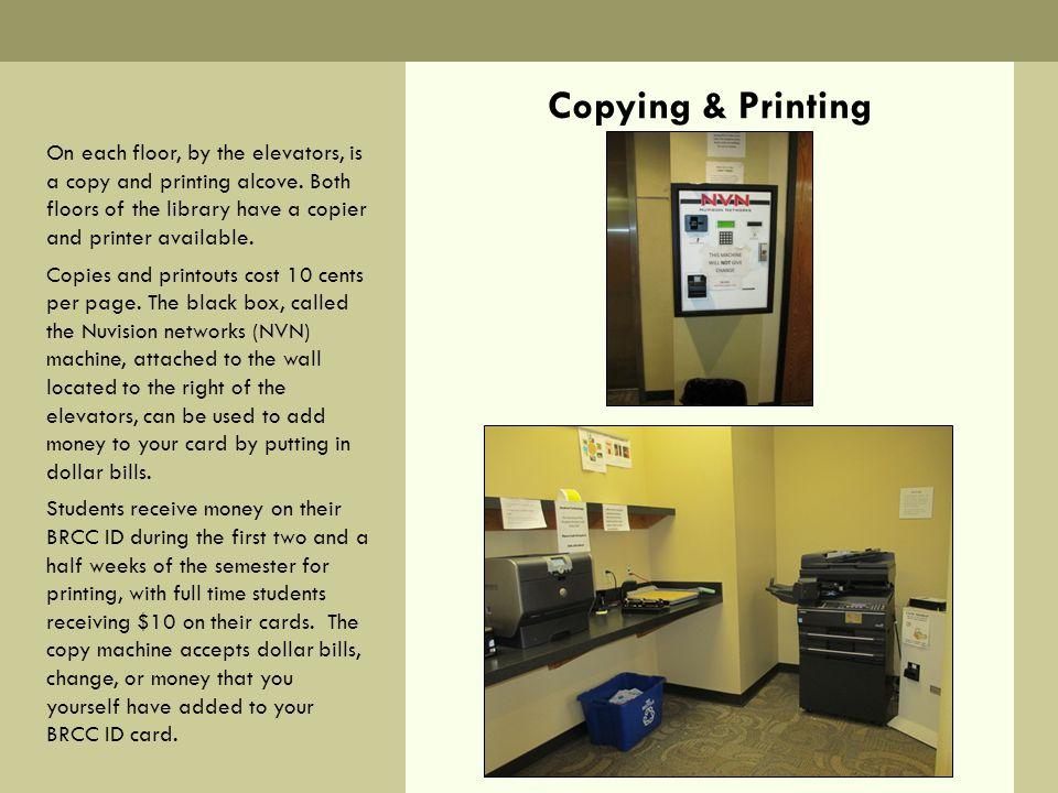 Copying & Printing