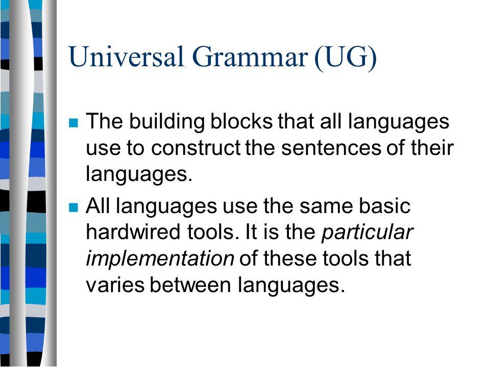 Building Blocks Of Language Psychology