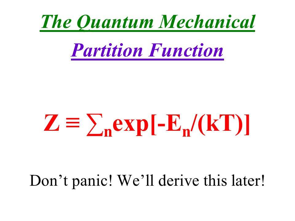 The Quantum Mechanical