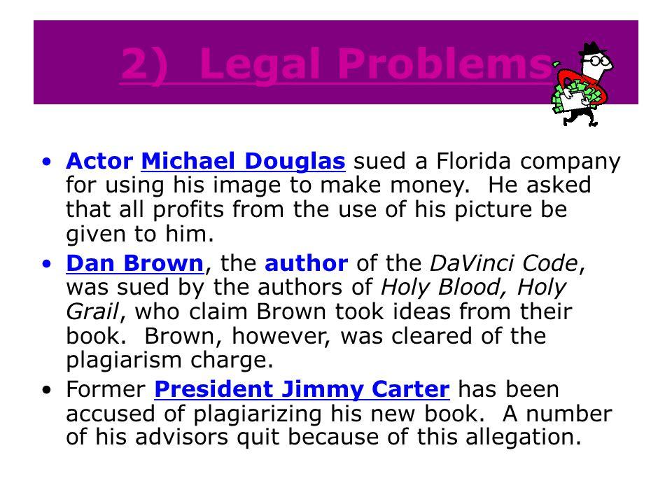 2) Legal Problems