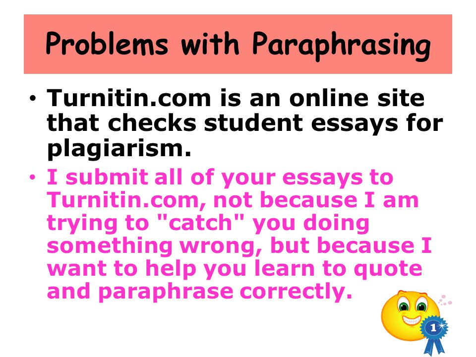 Problems with Paraphrasing