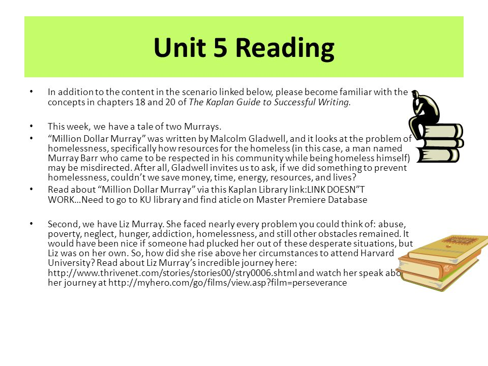 Unit 5 Reading