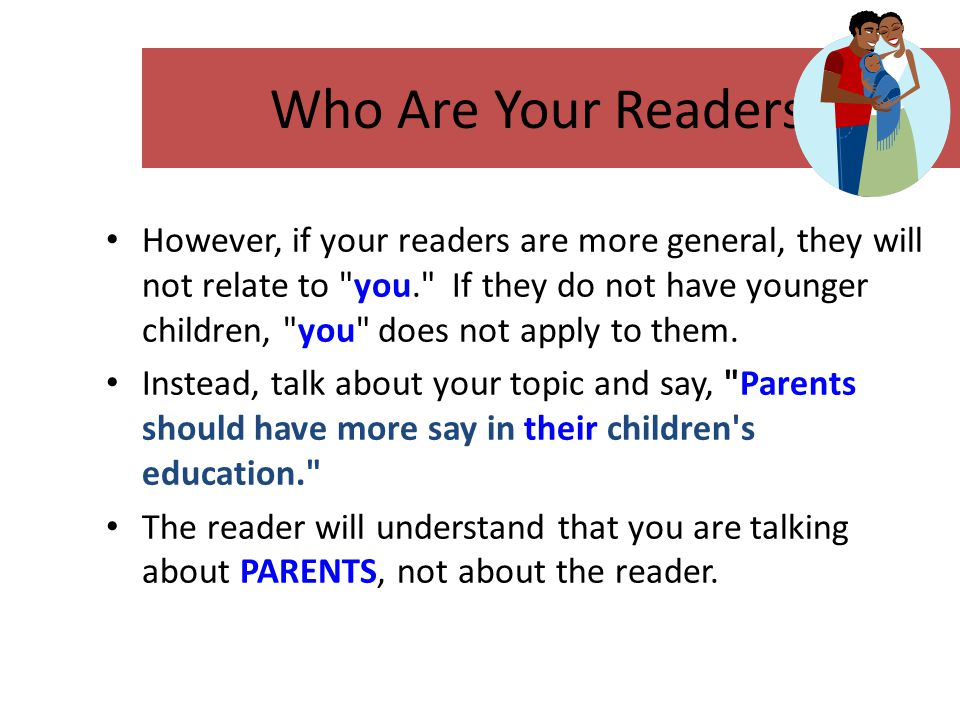 Who Are Your Readers