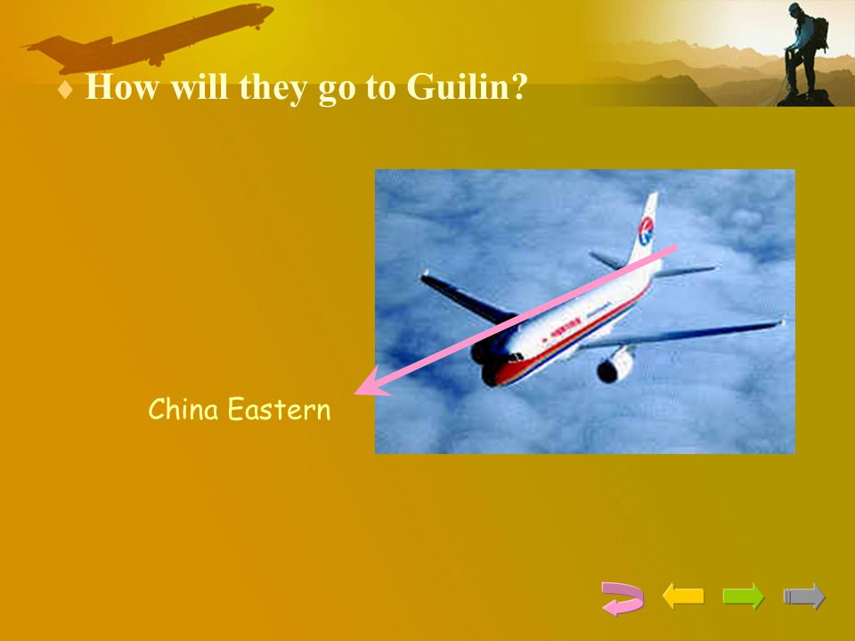 How will they go to Guilin