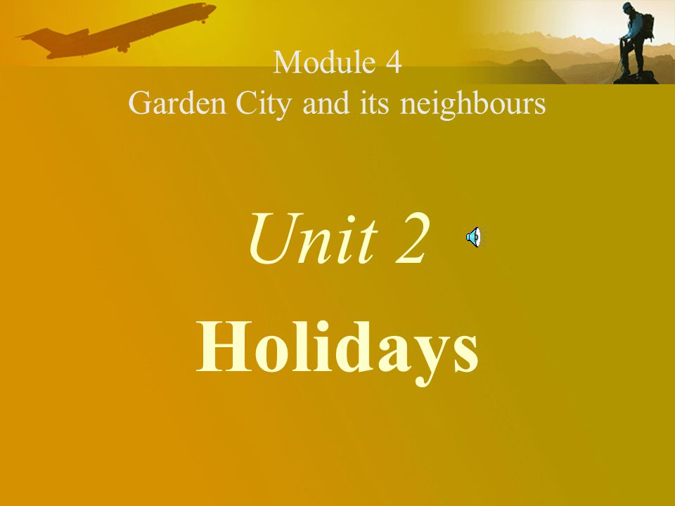 Module 4 Garden City and its neighbours
