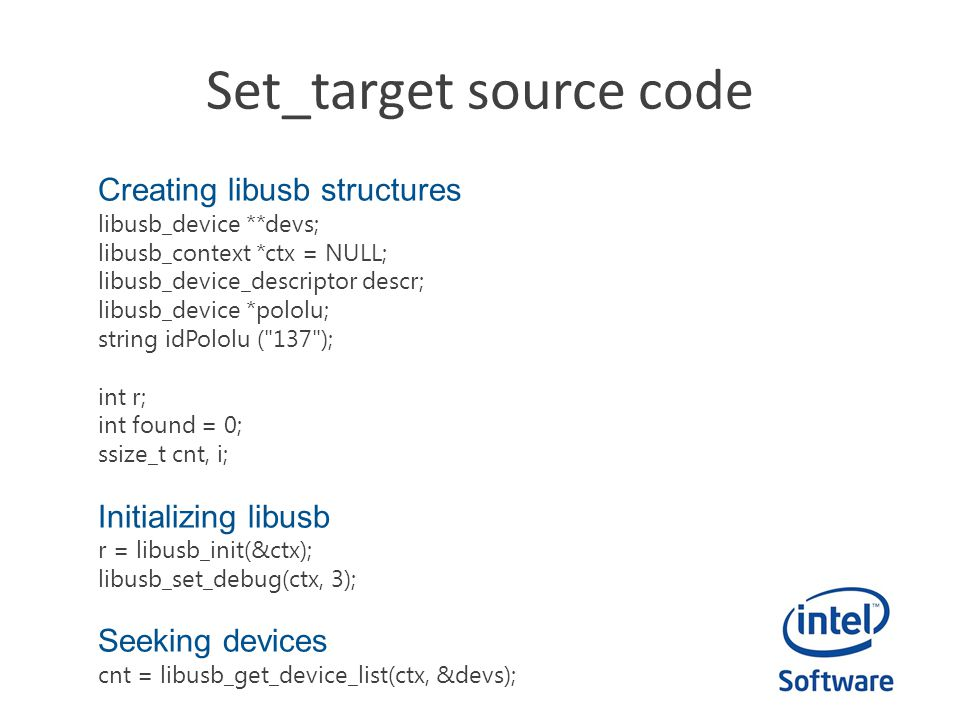 Set_target source code