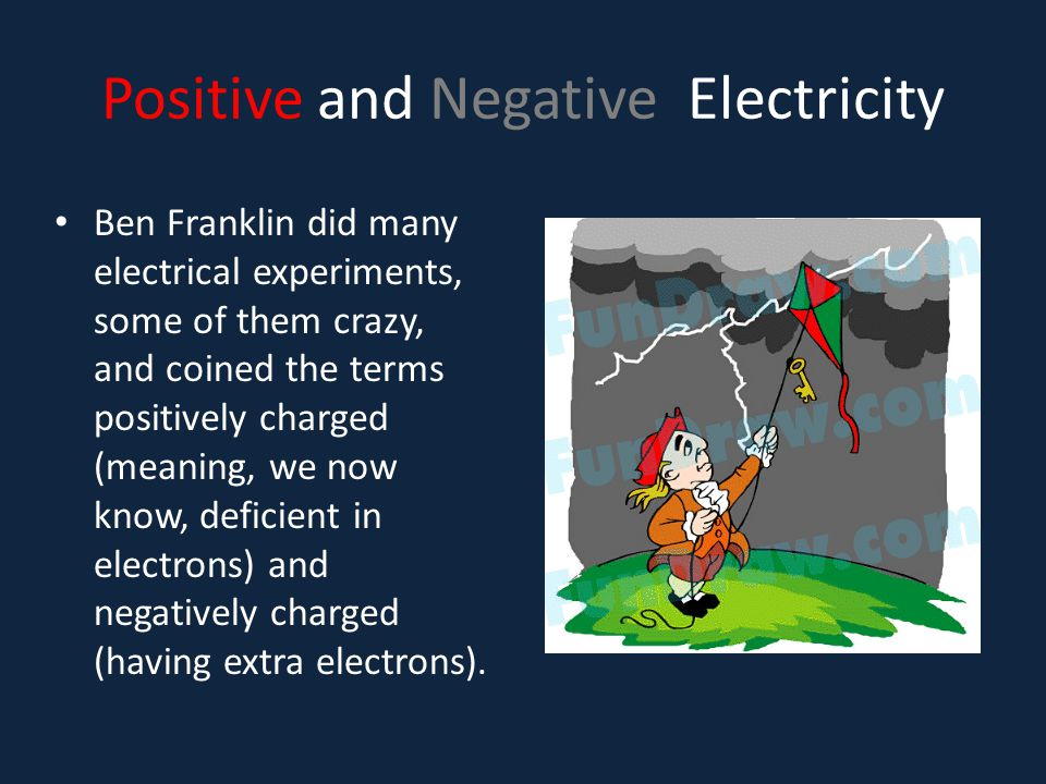 Positive and Negative Electricity