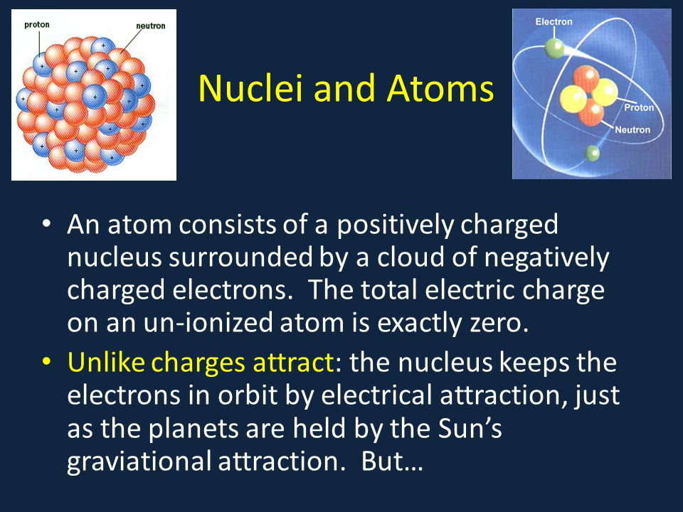 Nuclei and Atoms