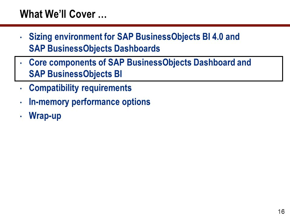 The Different Tiers in SAP BusinessObjects BI