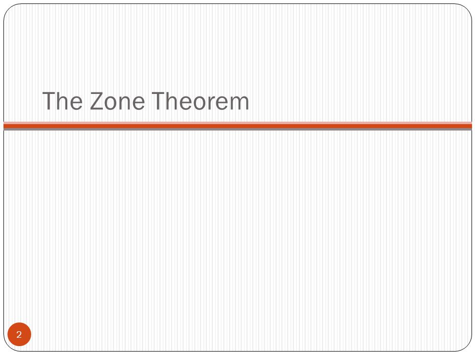The Zone Theorem
