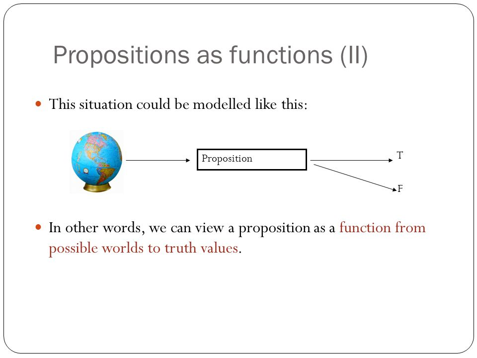 Propositions as functions (II)