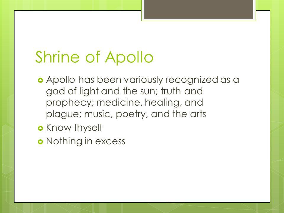Shrine of Apollo