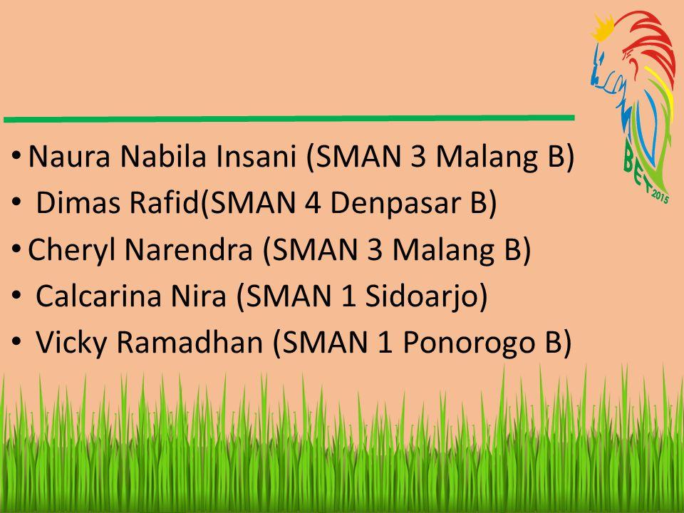 Naura Nabila Insani (SMAN 3 Malang B)