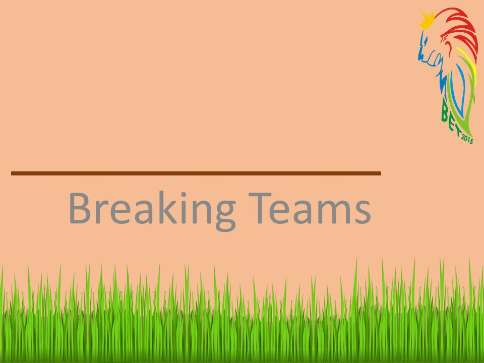 Breaking Teams