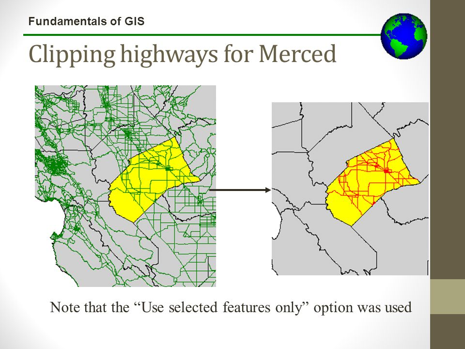 Clipping highways for Merced