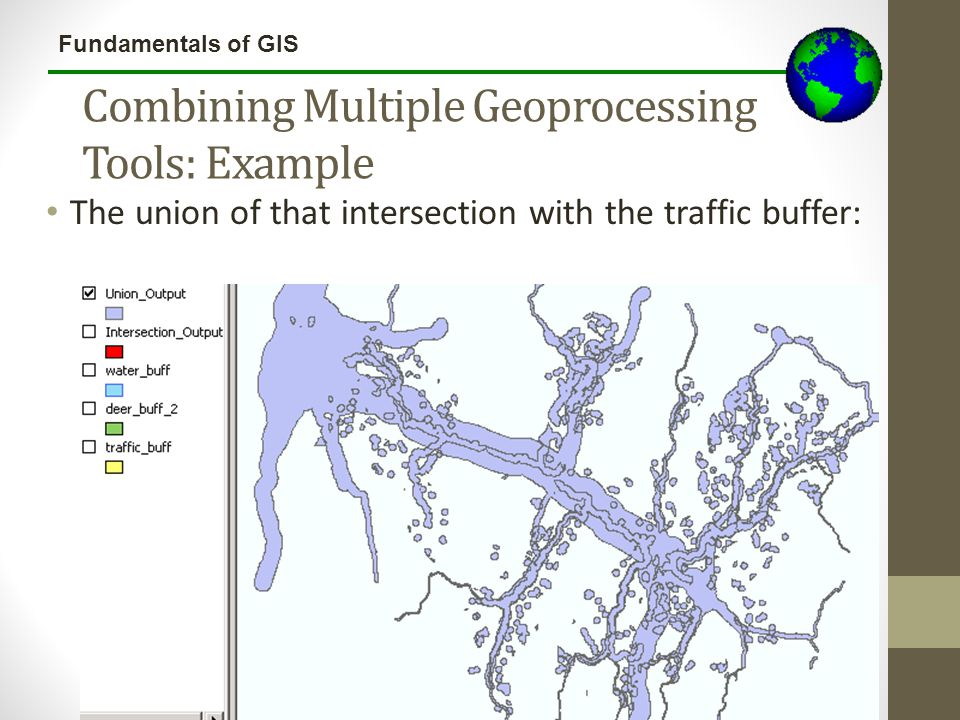 Combining Multiple Geoprocessing Tools: Example